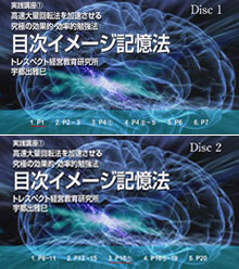 目次イメージ記憶法実践講座DVD